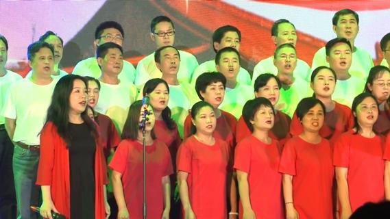 领唱合唱:《我和我的祖国》--信息与网络中心  继续教育学院